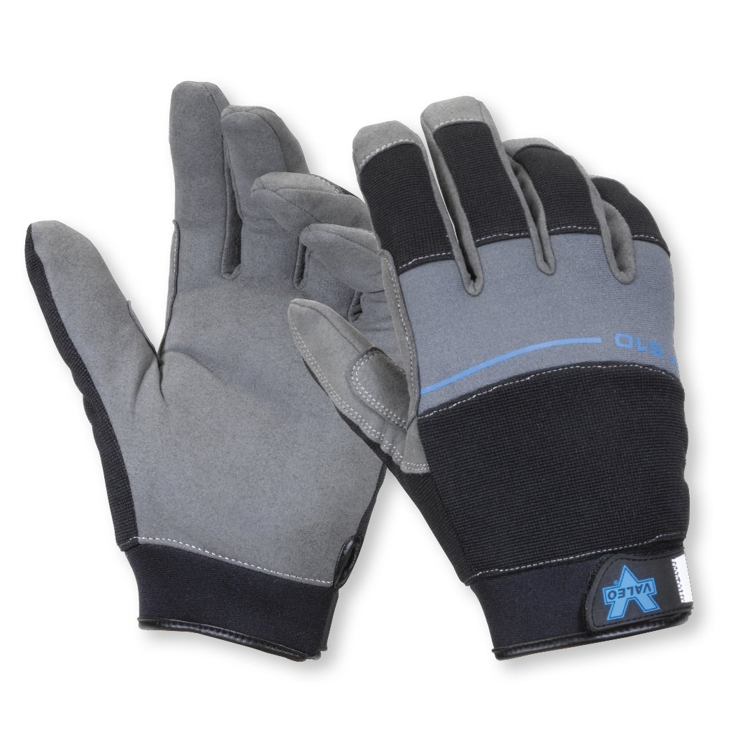 Valeo Industrial V510 Cold Weather Lined Mechanic's Gloves, VI4885, Pair, Black, Small