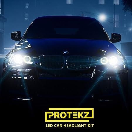 Protekz Core 9006 LED Headlight Bulbs 6000K Cool White Light Low Beam Kit