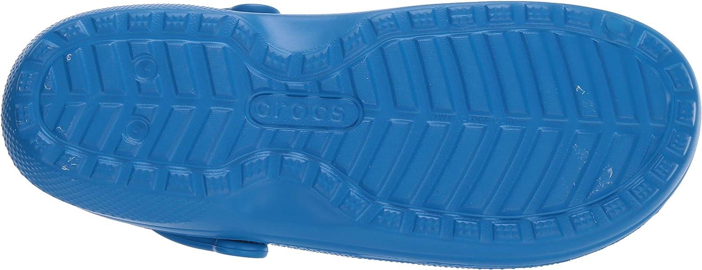 Bright Cobalt//Bright Cobalt 4jv Crocs Classic Lined Clog Azul 38//39 EU Zuecos Unisex Adulto