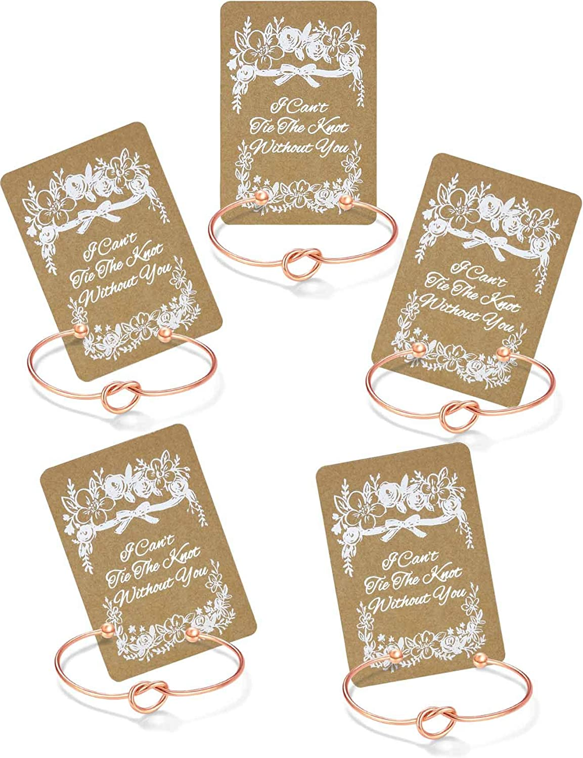 Bracelets with Bridesmaid Gifts Cards -Set of 1 Bridesmaid Proposal Box Must Have 5 7 6 4