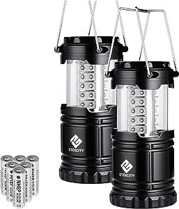 Etekcity LED Camping Lantern Collapsible Flashlight Portable Lamp