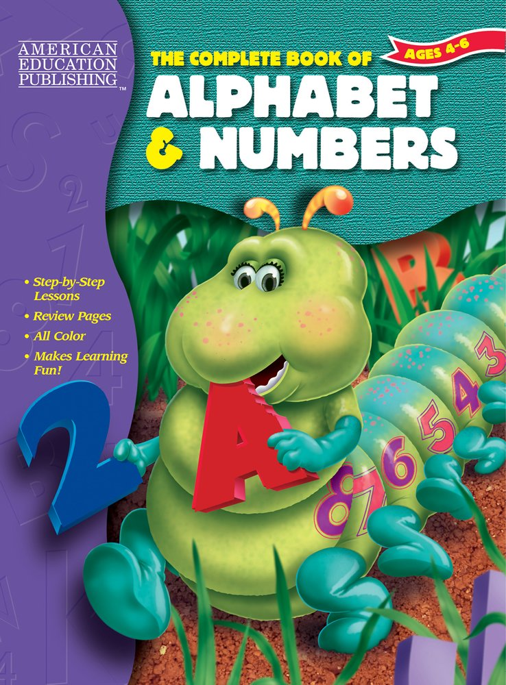 The Complete Book of Alphabet & Numbers ebook