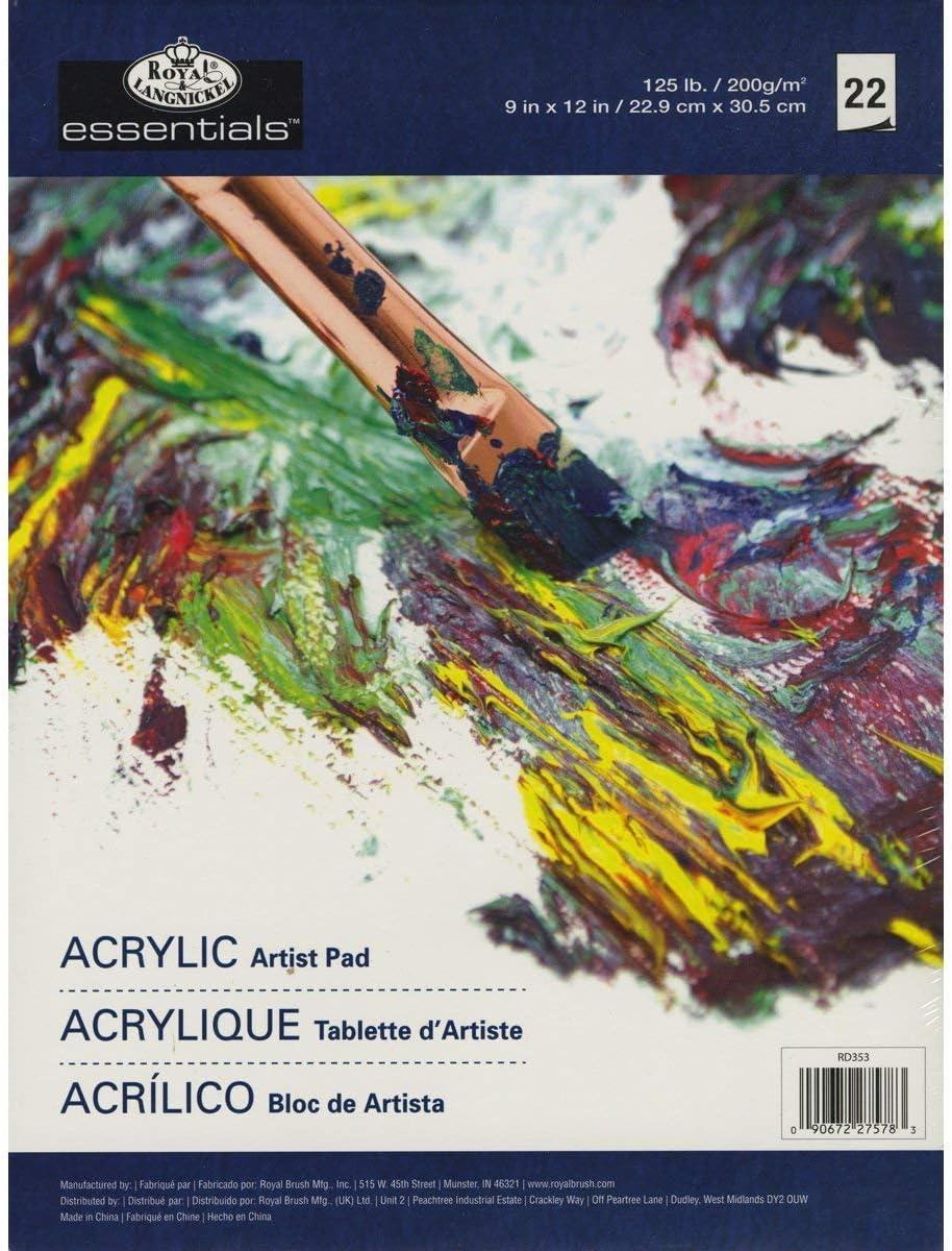 2X Acrylic Artist Pad