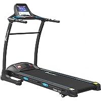 Powermax Fitness TDM-110 2 HP (4 HP Peak) Motorized Treadmill - Free Installation Service - 3 Years Motor Warranty - with 7.2 inch Vivid LCD Color Display