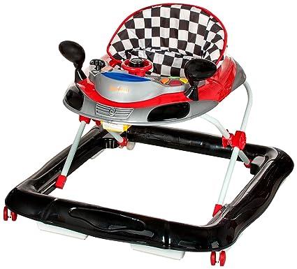 baninni tontoni BN608 - Andador para bebé rojo/negro: Amazon ...
