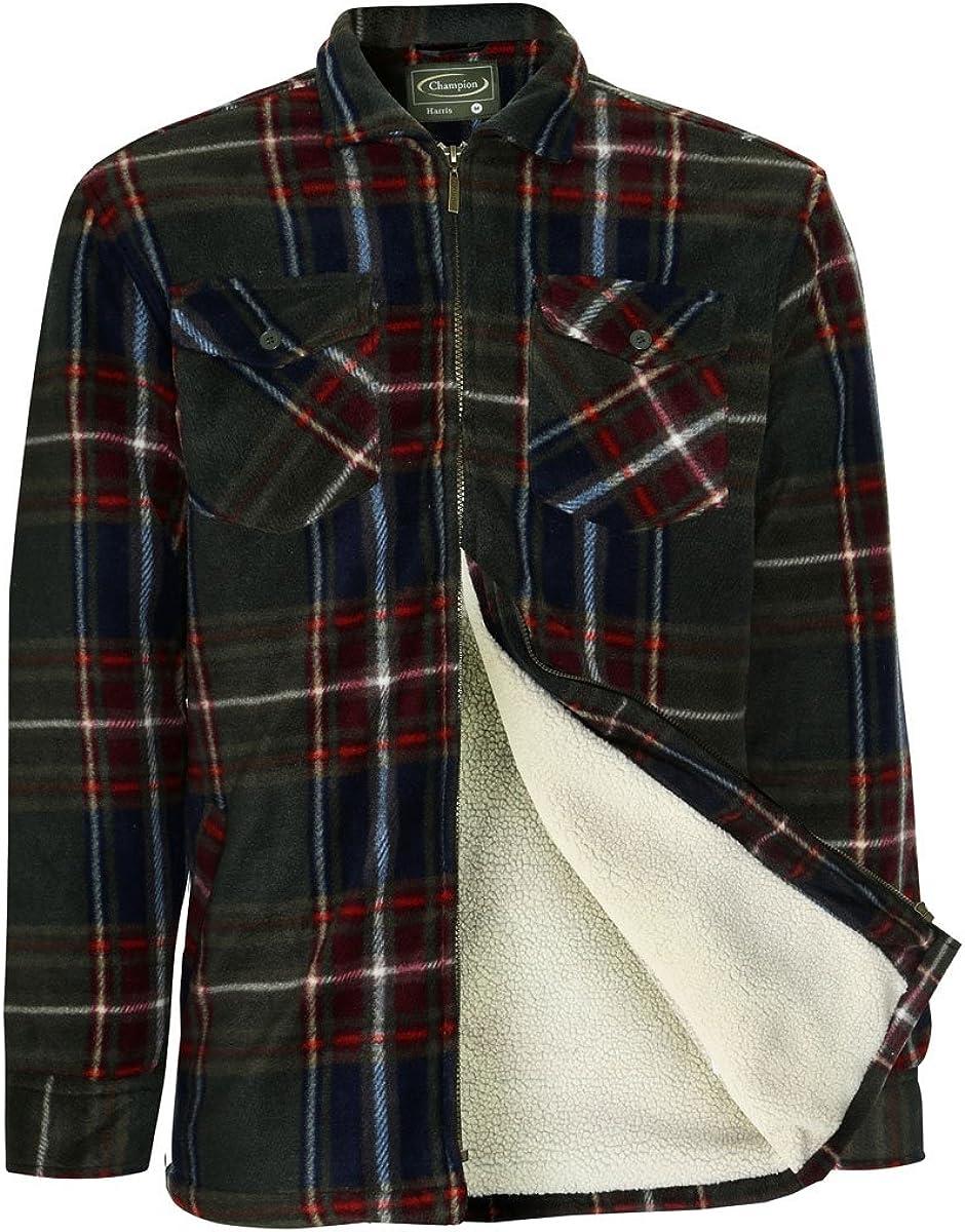 Champion Mens Harris Country Estate Fleece Lined Coat