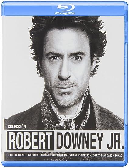 Pack: Sherlock Holmes + Sherlock Holmes 2 + Salidos De Cuentas + Kiss Kiss Bang Bang + Zodiac Blu-ray: Amazon.es: Robert Downey Jr., Jude Law, Rachel McAdams, Zach Galifianakis, Val Kilmer, Jake
