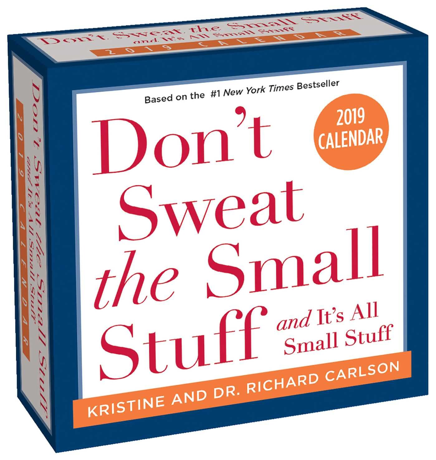 dont sweat the small stuff 2019 day to day calendar