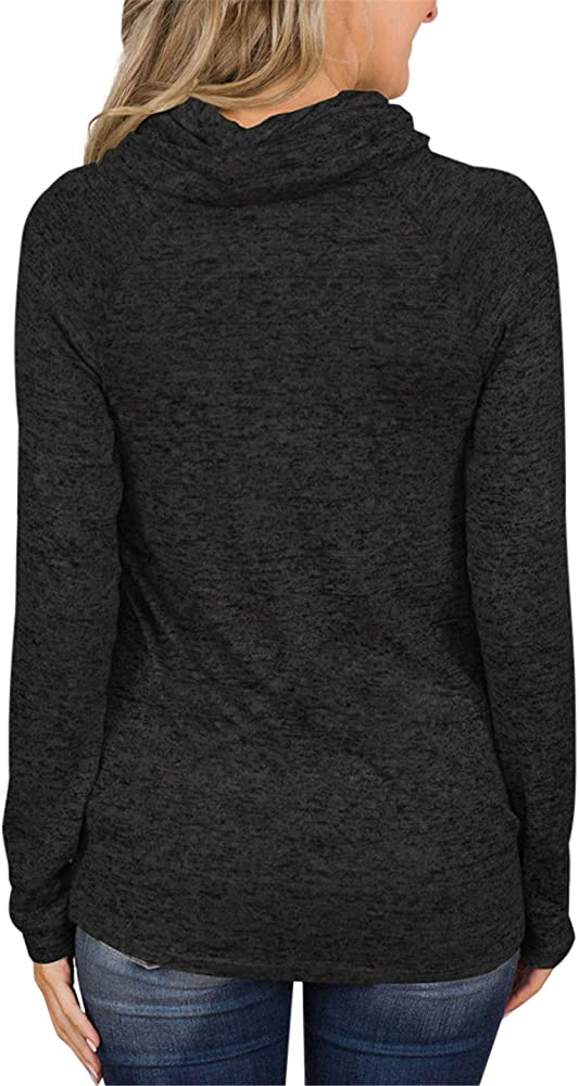 Gym and Juice Women Pullover Long Sleeved Hooded Without Pockets Sweatshirt