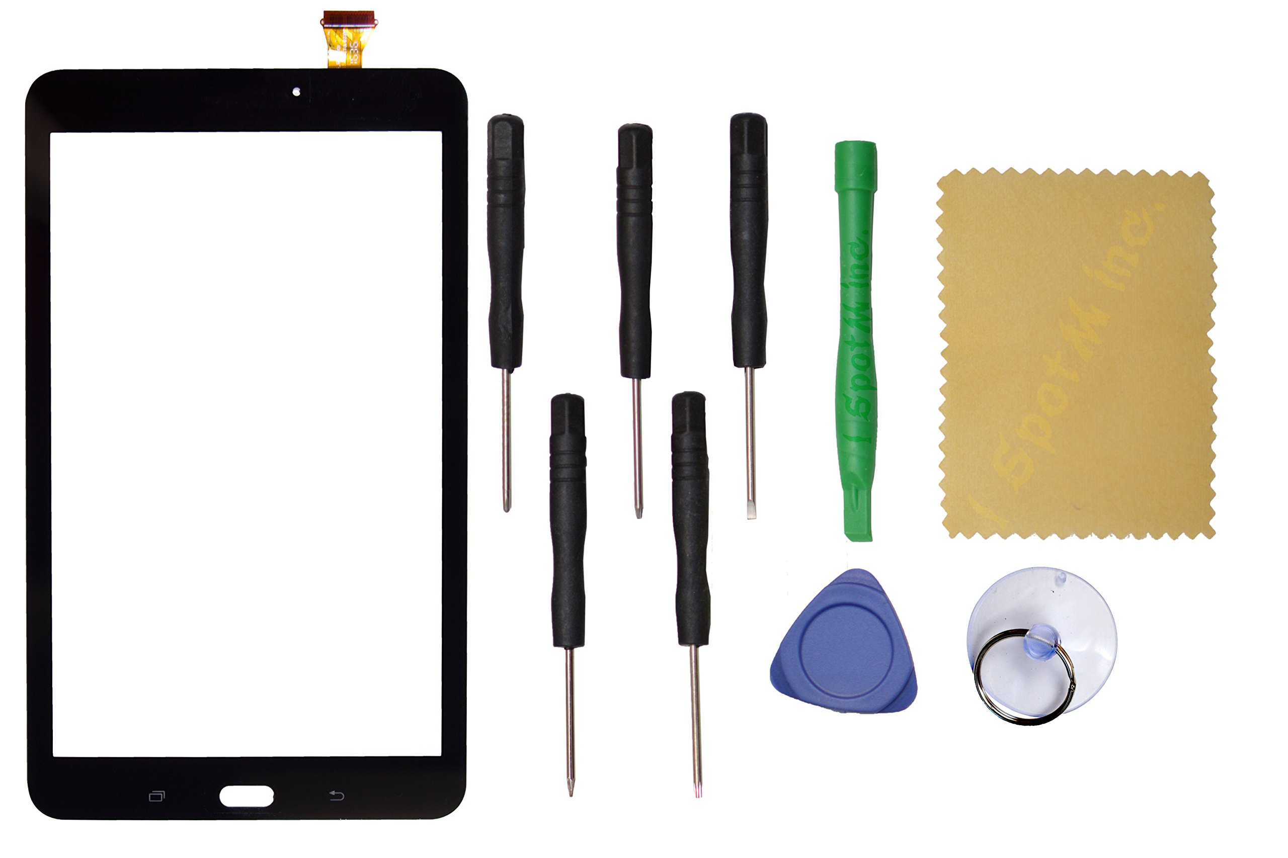 Touch Screen Digitizer Replacement for Samsung Galaxy TAB E 8.0 SM-T377 T377 (Black)