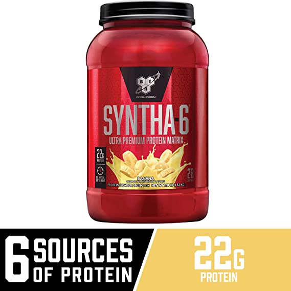 Syntha-6 - 1,32 kg Banana cream: Amazon.es: Salud y cuidado personal