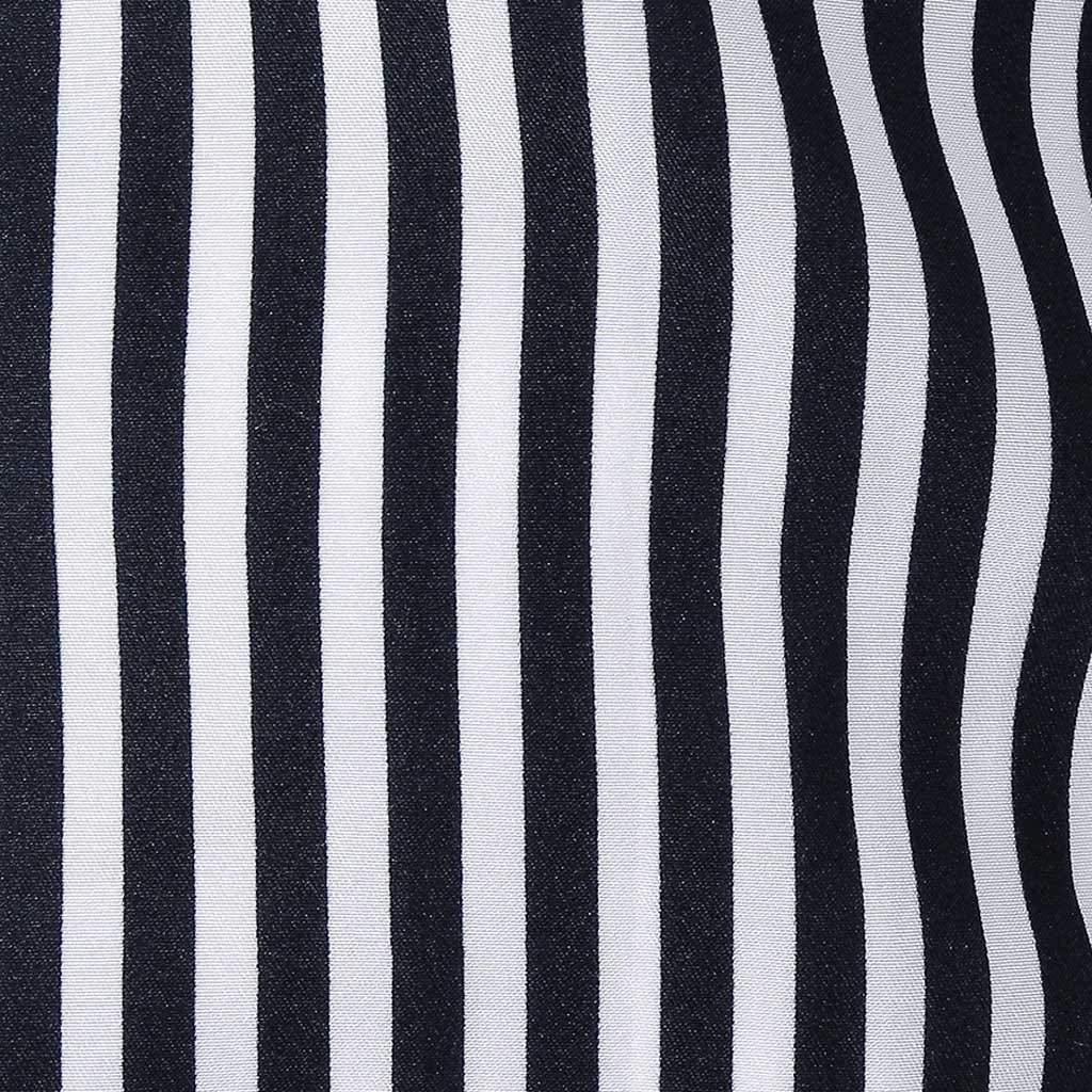 Mens Casual Shirts Slim Striped Long Sleeve Shirts Button Business Beach Party Formal Dress Shirt