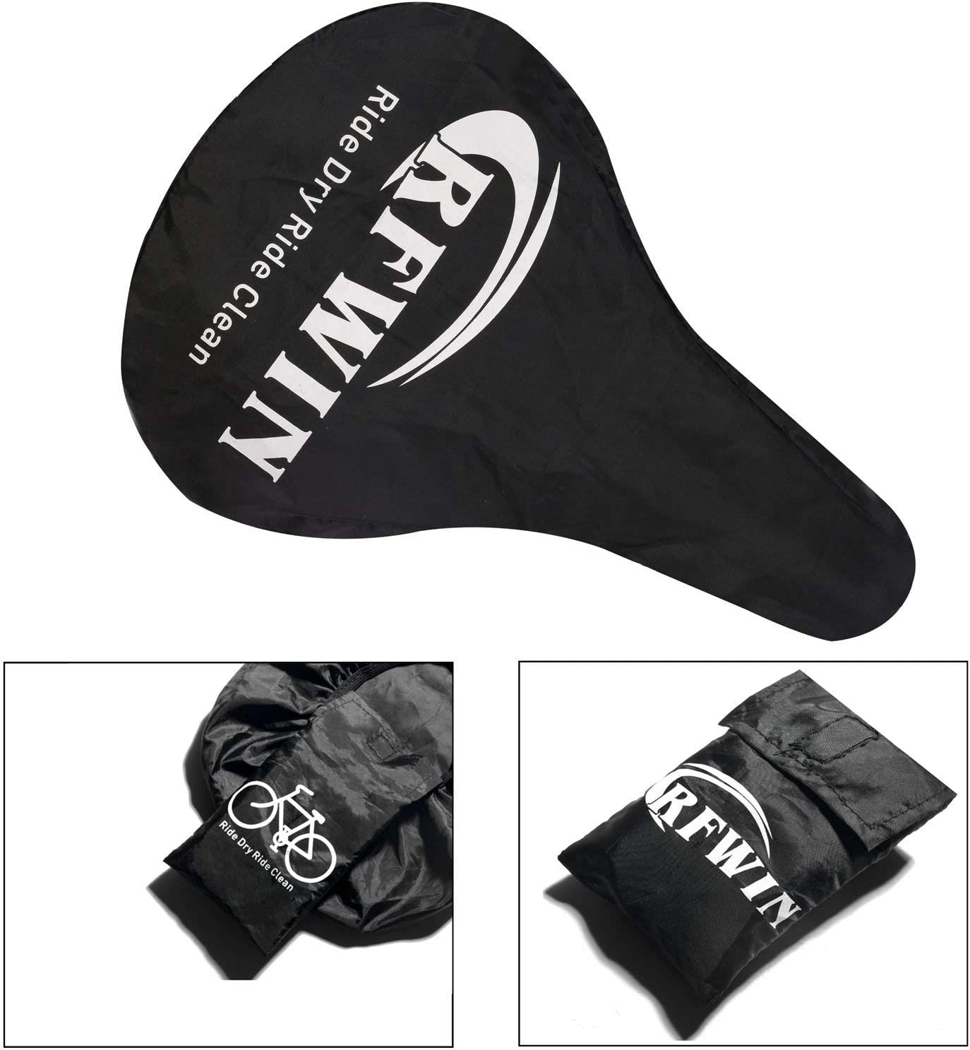 RFWIN Gel Bike Seat Cover Stationary Bikes Water /& Dust Resistant Bike Saddle Cover Fits Mountain Bikes Soft Comfortable Bicycle Seat Cushion