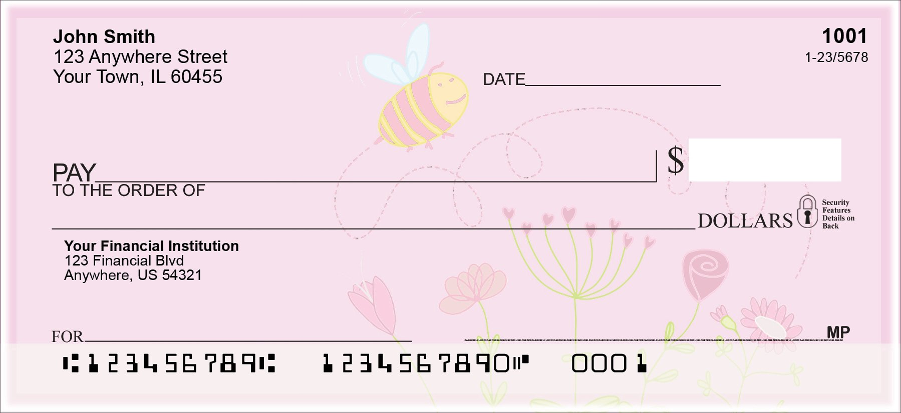 Bee Sweet Honey Personal Checks (2 Boxes Duplicates)