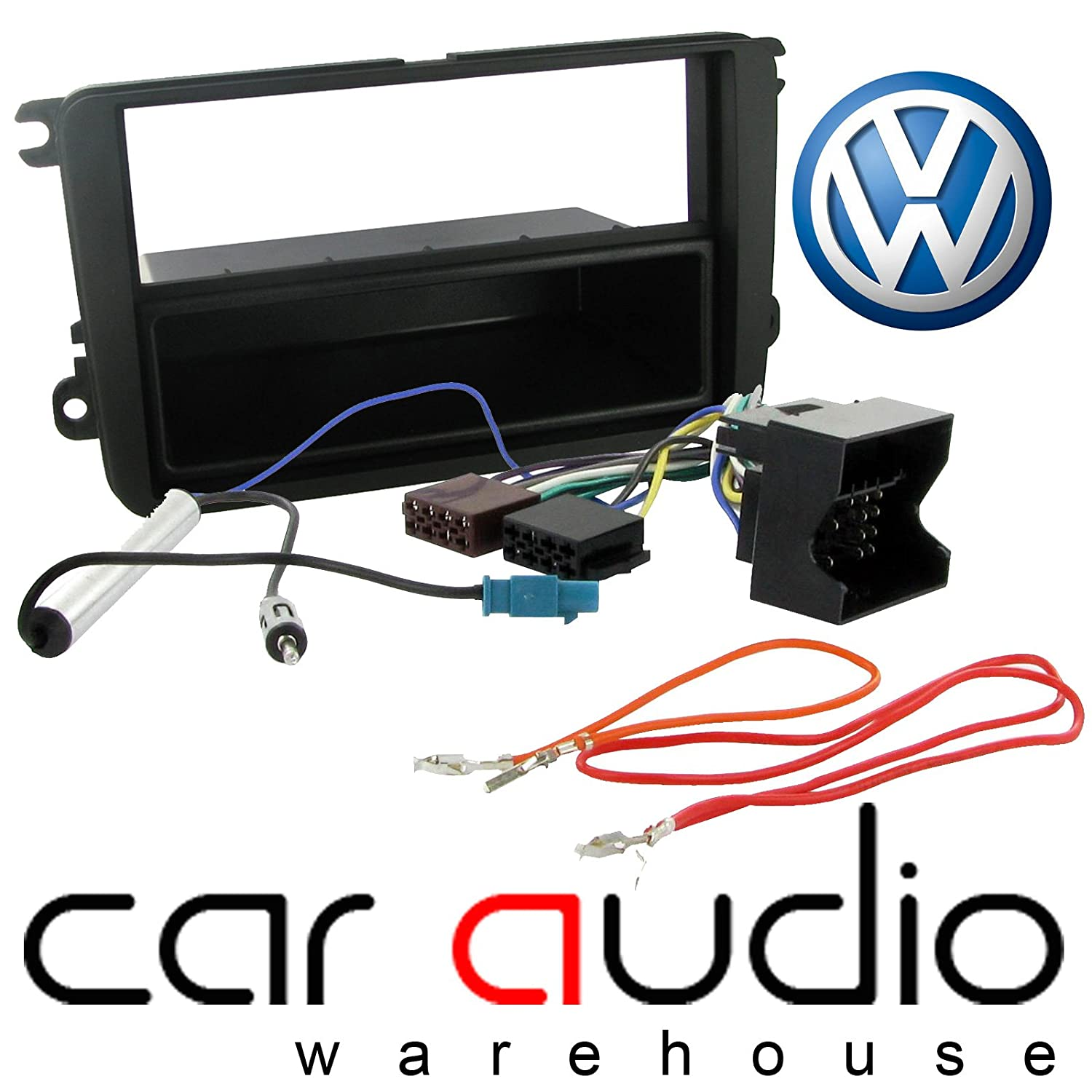 T1 Audio Pack Wiring And Black Facia Panel Fits The Following Vehicles VW Pack