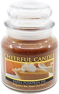 product image for A Cheerful Giver CS10 Papa's Pumpkin Pie 16 oz. Jar Candle, 16-Ounce, Red