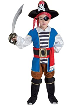 chiber Disfraces Disfraz de Pirata para Niño (Talla 4): Amazon.es ...