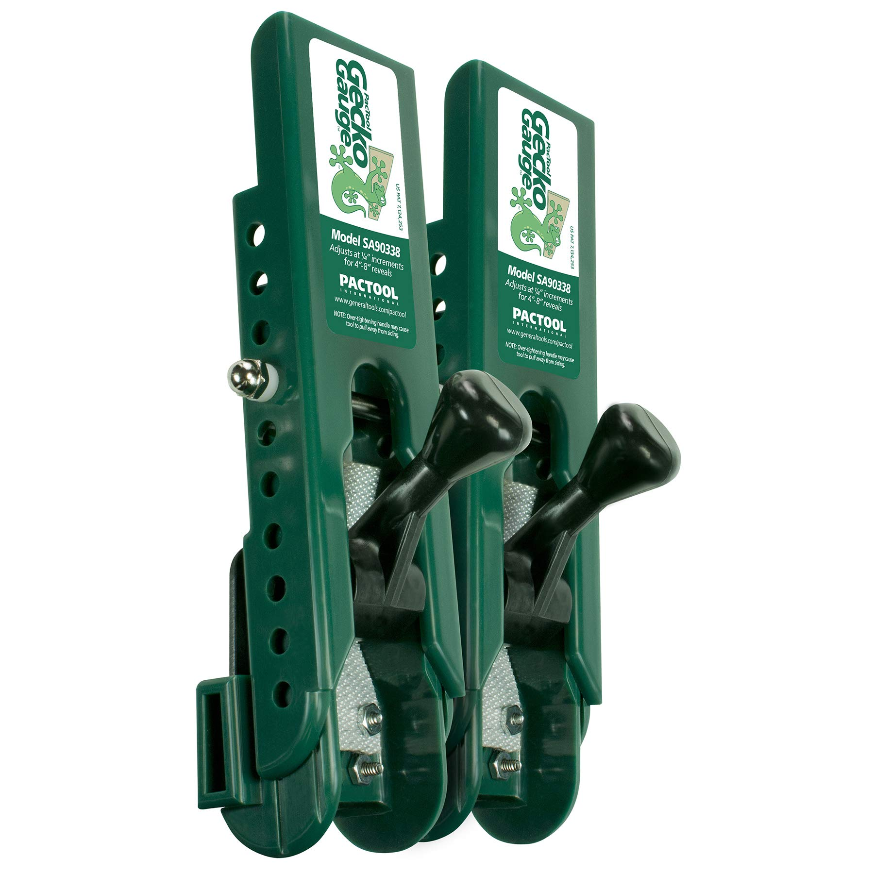 PacTool International SA90338 Gecko Gauge, LP Siding Installation Tool (1 Set) by PacTool