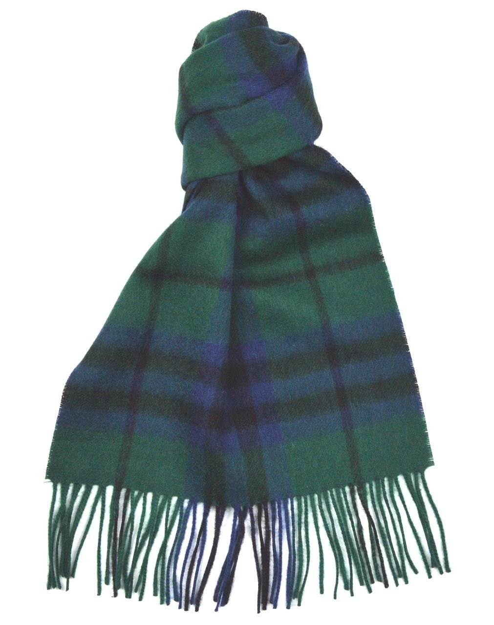 Lambswool Scottish Clan Scarf Austin Modern Tartan by Macdonald Sporrans (Image #1)