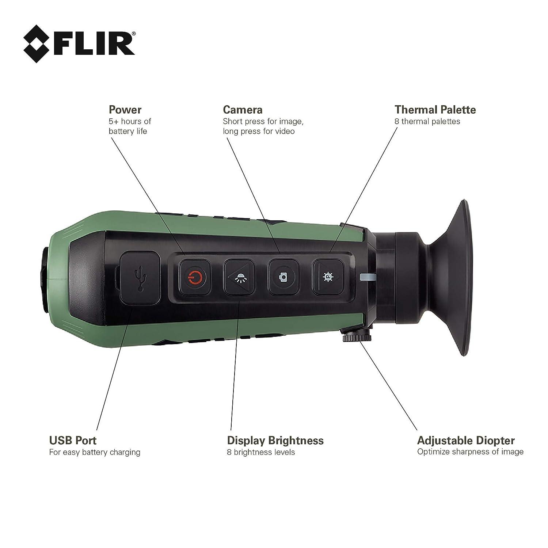 FLIR Scout TK Pocket-Sized Thermal Monocular by FLIR: Amazon ...