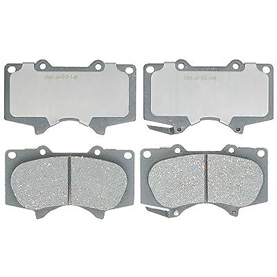 ACDelco 14D976CH Advantage Ceramic Front Disc Brake Pad Set: Automotive