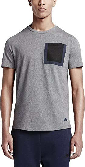 655460f4e866 NIKE Tech Hypermesh Pocket T-Shirt Mens Fashion-t-Shirts 776675 at Amazon  Men s Clothing store