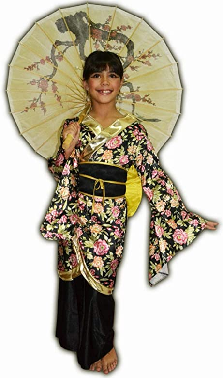 Boys Toys - Disfraz Geisha Estampada 5-6 Años 36095: Amazon.es ...
