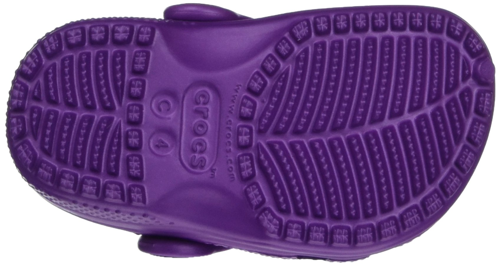 Crocs Kid's Classic Clog K Shoe, Amethyst, 7 M US Toddler by Crocs (Image #3)