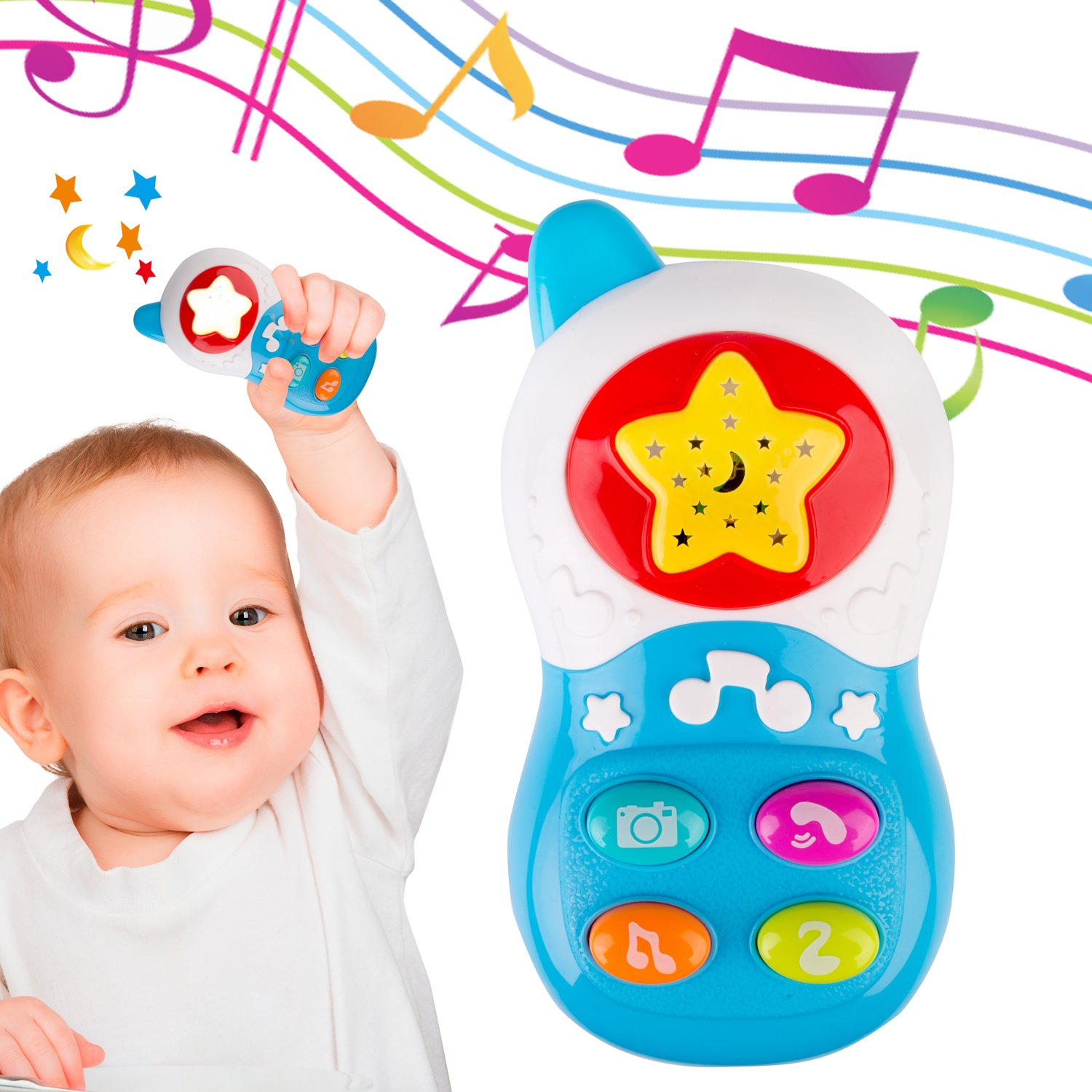 Amazon Baby Musical Toy Phone Educational Christmas Birthday