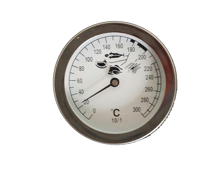 Koch 92200 Deep Fat Fryer Thermometer Silver