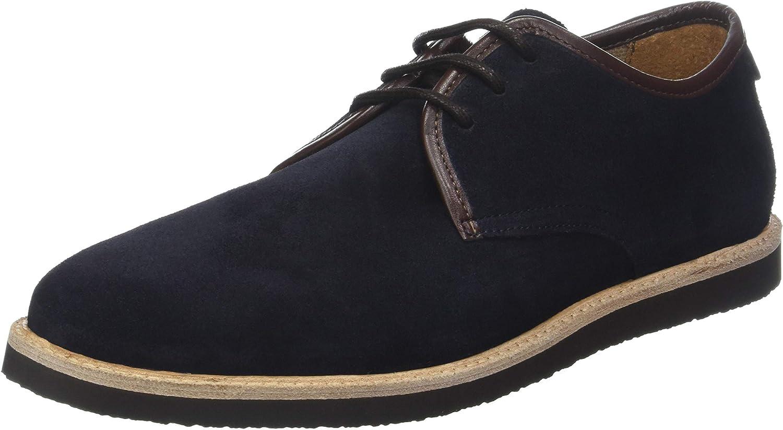Schmoove Fly Suede/Flag, Zapatos de Cordones Derby para Hombre