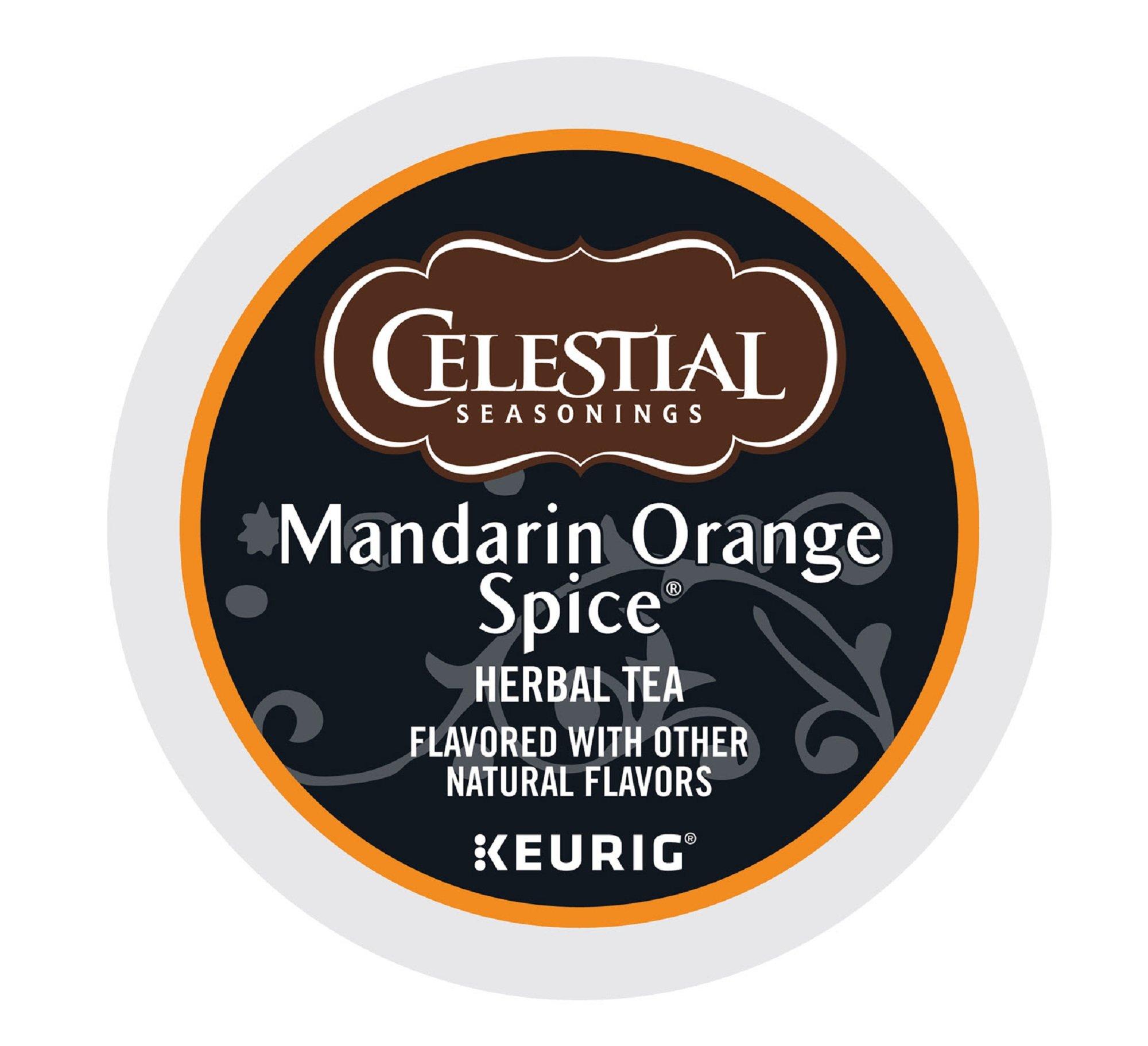 Celestial Seasonings Tea K-Cups, Mandarin Orange Spice, 96-Count by Celestial Seasonings