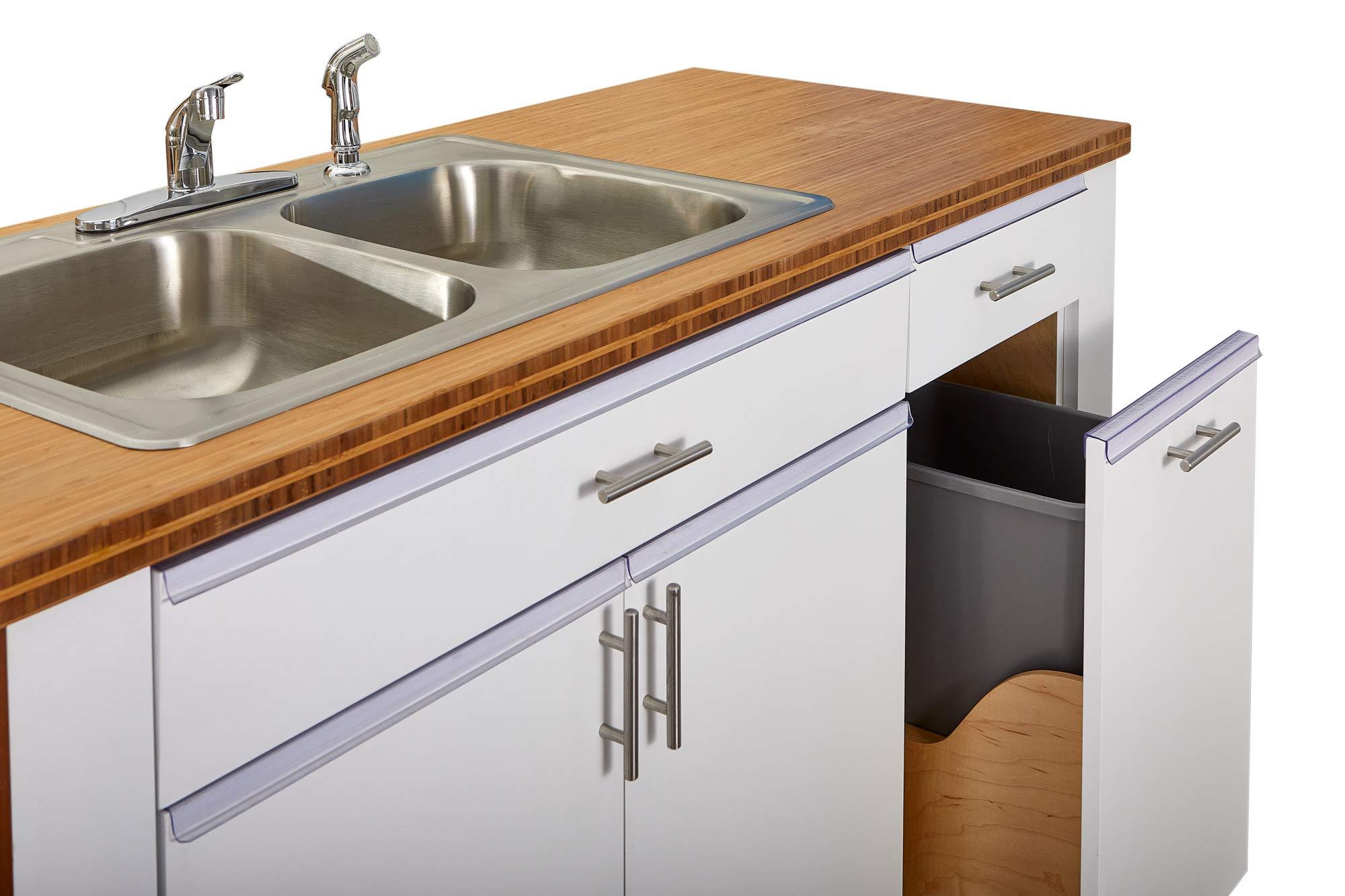 Sink Pack 2-18 & 1-36'': Cabinet Hero Door Protectors