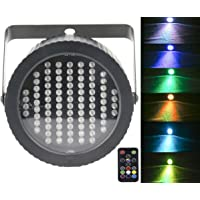 Stage Lights Par 86 LED,Latta Alvor DMX512 RGB Strobe Light Party Lights for Disco Bar Show Pub KTV Party DJ Lights with Sound Activated & Remote Control (multicolor) (RGB)