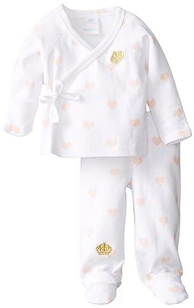 Rosie pope baby girls newborn kimono set sweetheart 9 months