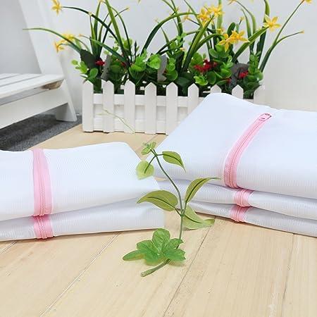 tezoo Ropa Red (5 unidades con cremallera color blanco Premium ...