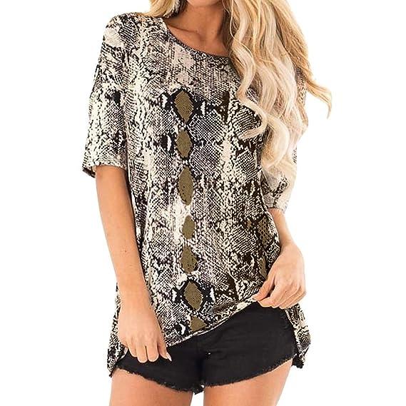 61a32995f3726 Amazon.com: Women T Shirt,AIMTOPPY Womens Ladies Fashion Short ...