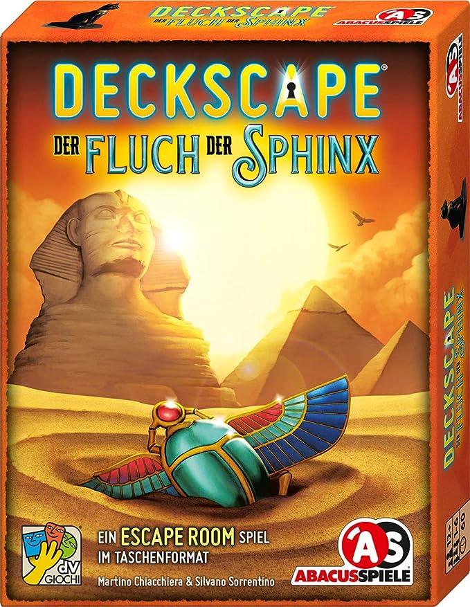 ABACUSSPIELE 38193 Deckscape - Juego de Cartas (Contenido en alemán): Chiacchiera, Martino, Sorrentino, Silvano: Amazon.es: Juguetes y juegos