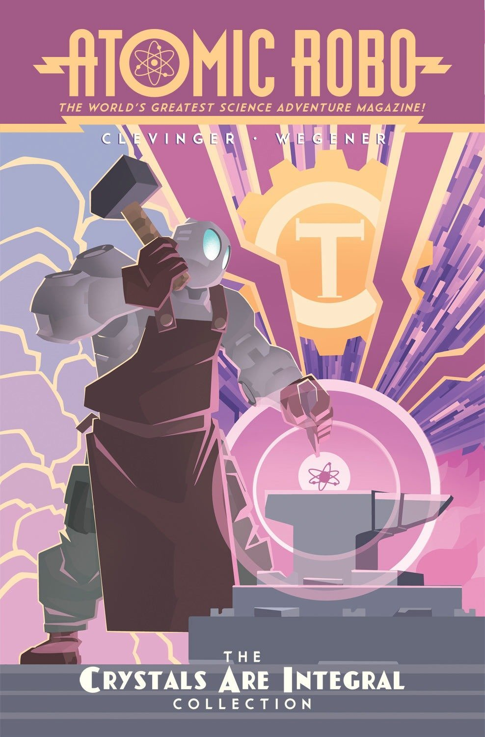 Read Online Atomic Robo: The Crystals Are Integral Collection ebook