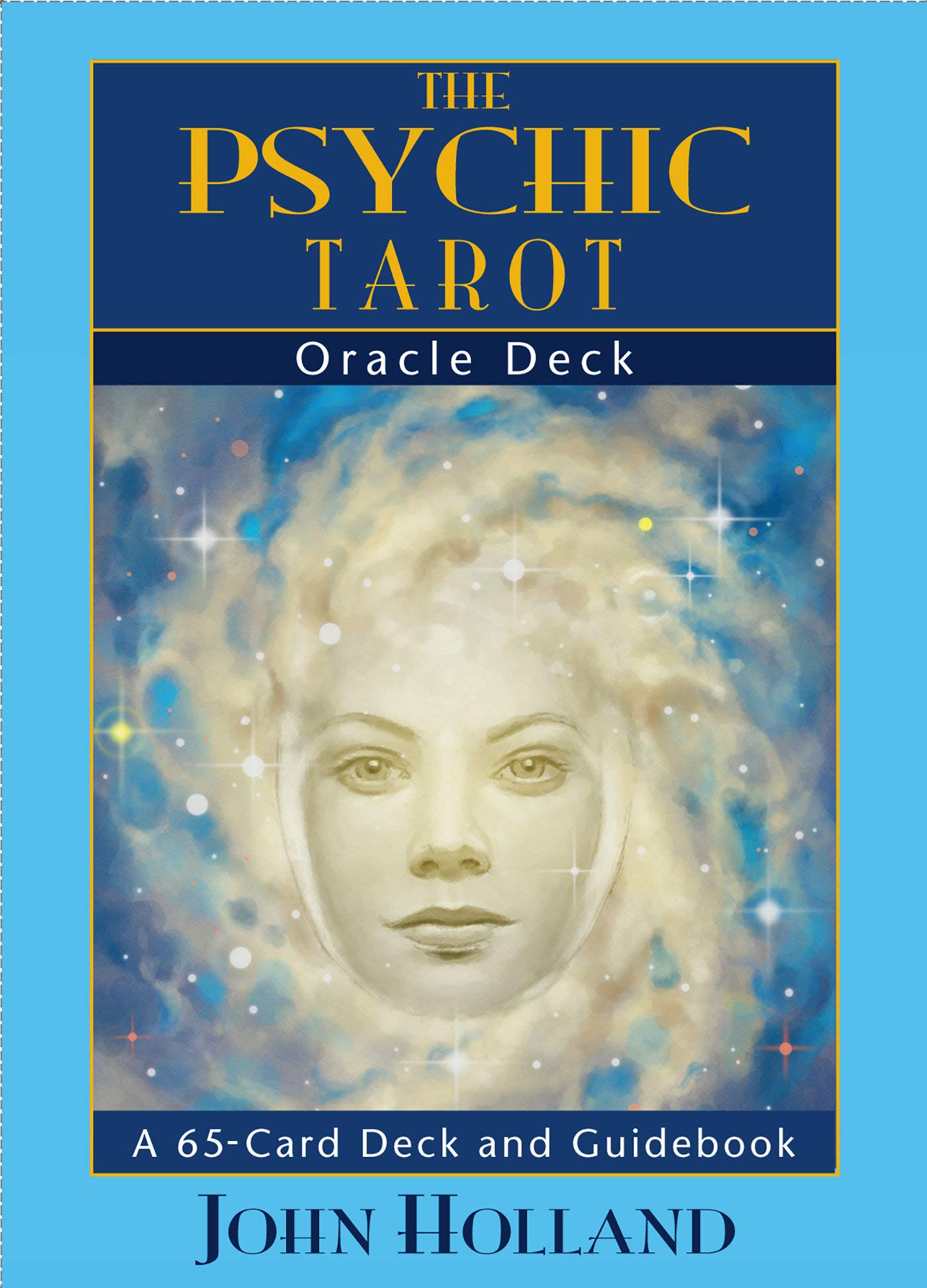 The Psychic Tarot Oracle Cards: a 65-Card Deck, plus booklet!