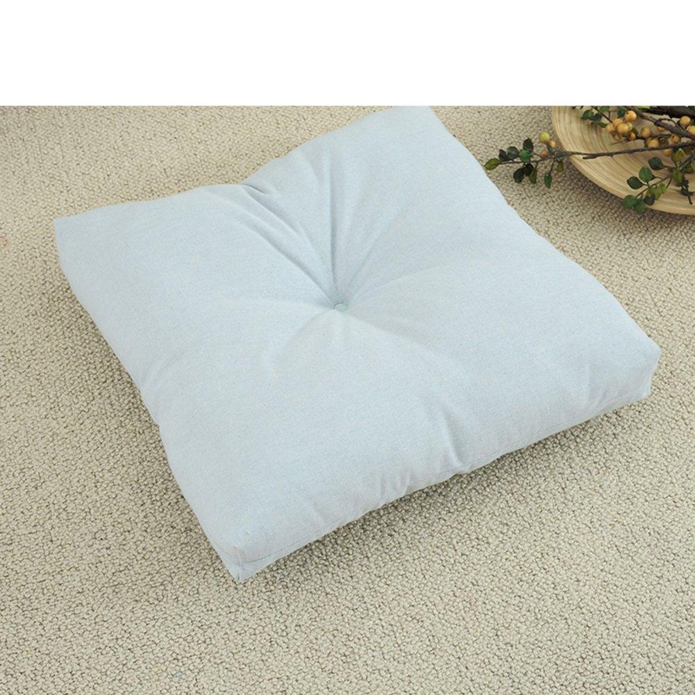 DUAN Chair Pads Coussins /épais Solides Coussin d/'Assise Tissu Natte de si/ège de Graisse Natte de futon de Tatami-A 45x45cm 18x18inch