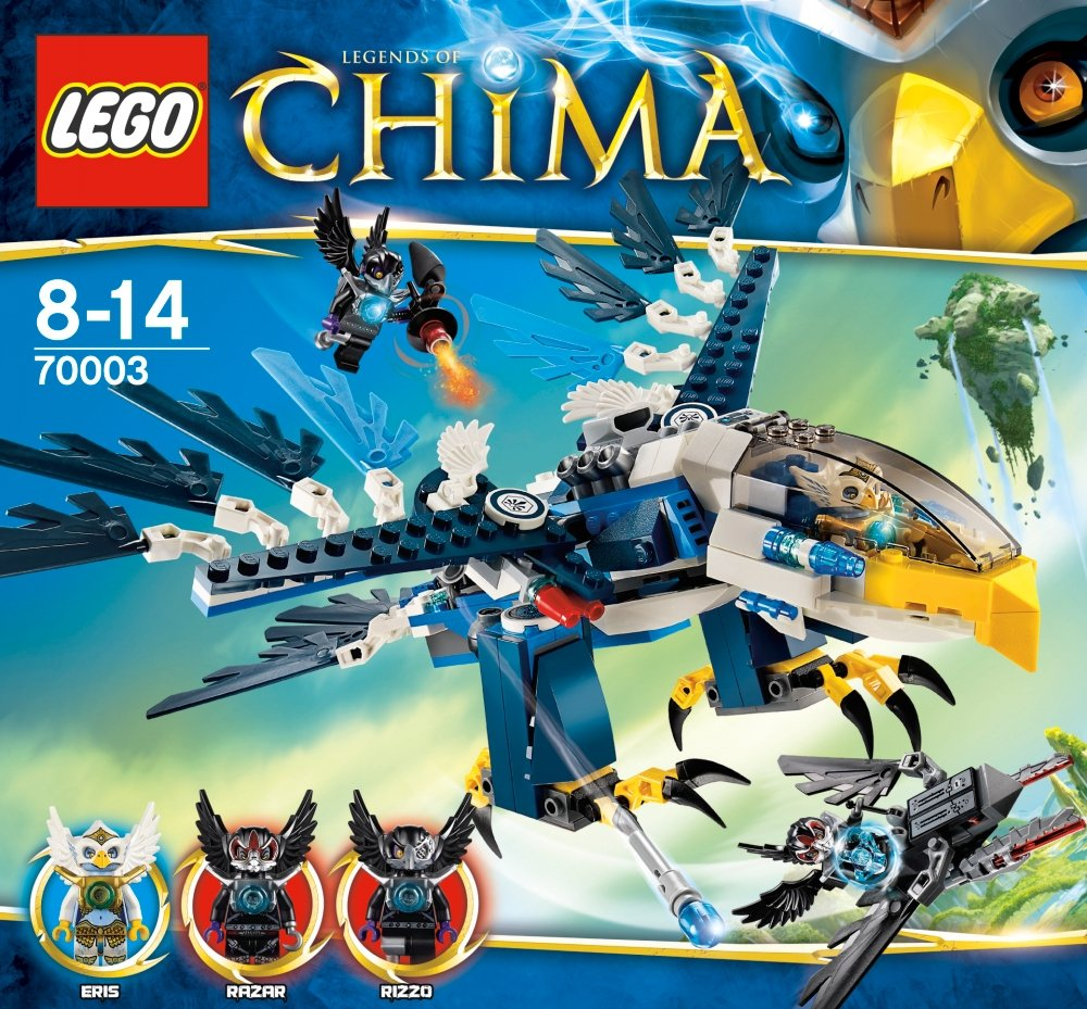 Amazon chima party supplies - Amazon Com Lego Legends Of Chima Eris S Eagle Interceptor Toys Games
