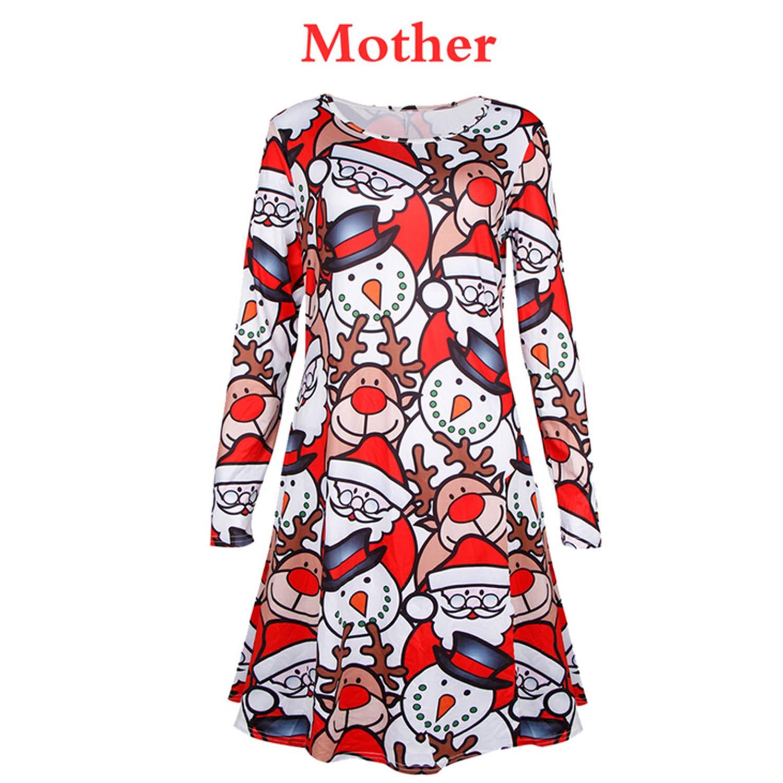Amazon.com: Docotor akio Mommy and Me - Vestido de Navidad ...