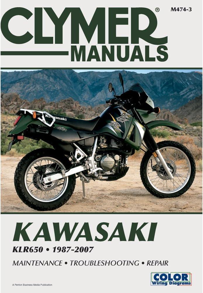Amazon.com: M474-3 KLR650 Kawasaki Motorcycle Repair Manual Clymer  1987-2007: by Publisher: AutomotiveAmazon.com
