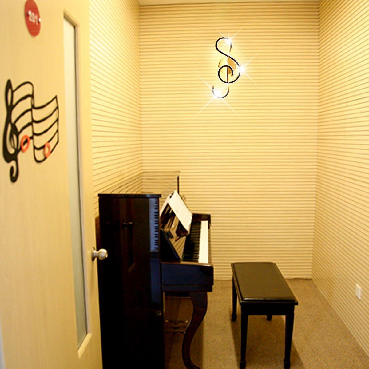 Cafe Corridor 3000K Black Living Room KAWELL Creative Modern LED Wall Light Indoor Wall Lamp LED Strip 22W Minimalist Aluminum Alloy Art Decoration for Bedroom