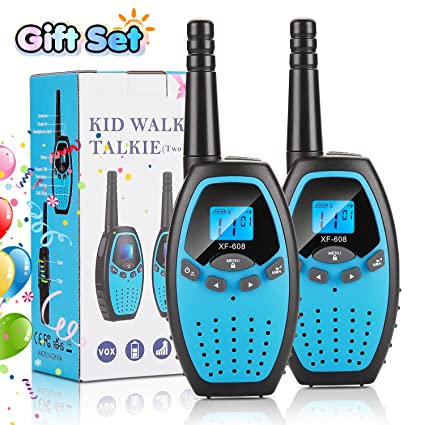 Amazon.com: FITNATE Walkie Talkies para niños de 3 millas de ...