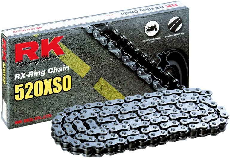 RK Racing Chain 520XSO-112 112-Links X-Ring Chain with Connecting Link