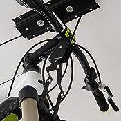 terra bikes fahrrad wandhalter bike lift schwarz 99 x 4 x 8 cm 13604700 sport. Black Bedroom Furniture Sets. Home Design Ideas