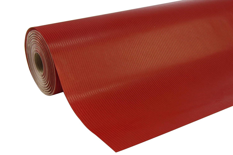 Clairefontaine 507550C Rolle Geschenkpapier (50 x 0,7 m, spezielle Breite, Kraftpapier, strapazierfähig) 1 Stück grün
