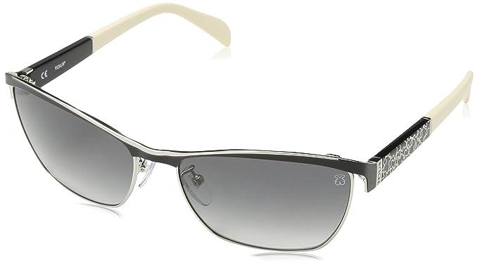 Tous STO309-590583 Gafas de sol, Shiny Palladium, 59 para ...